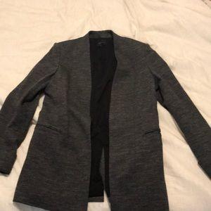 Theory grey blazer size 10